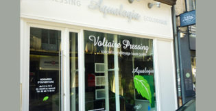 RSE exemple , logo pressing voltaire