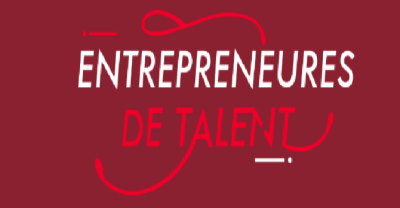 RSE exemple, logo Entrepreneures de Talent